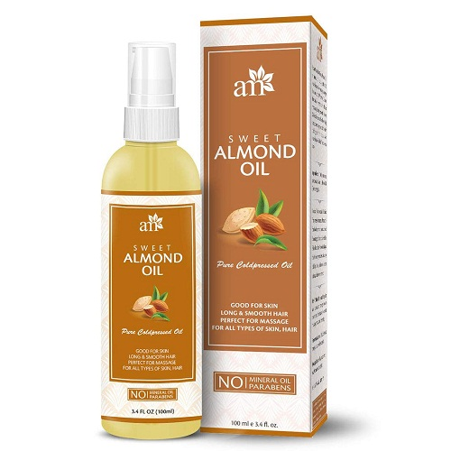 aromamusk-almond-oil Best hair Oils In Telugu
