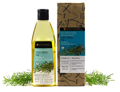 soul-flowe-tea-tree-oil Best hair Oils In Telugu