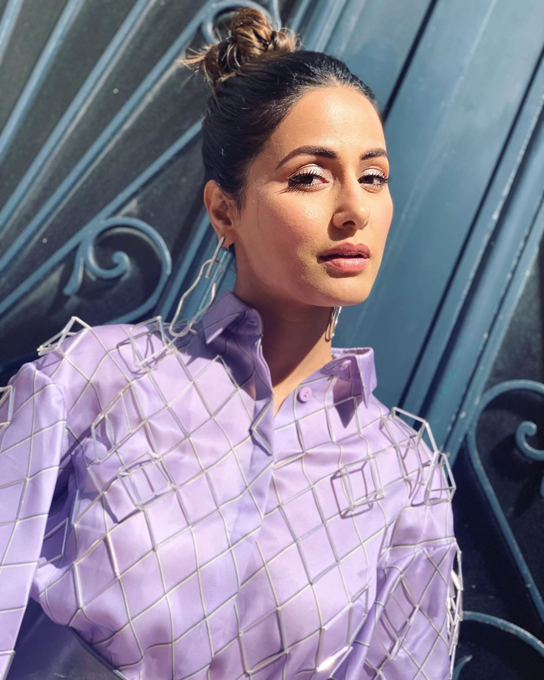 Hina Khan To Return On KZK2- Hina lilac