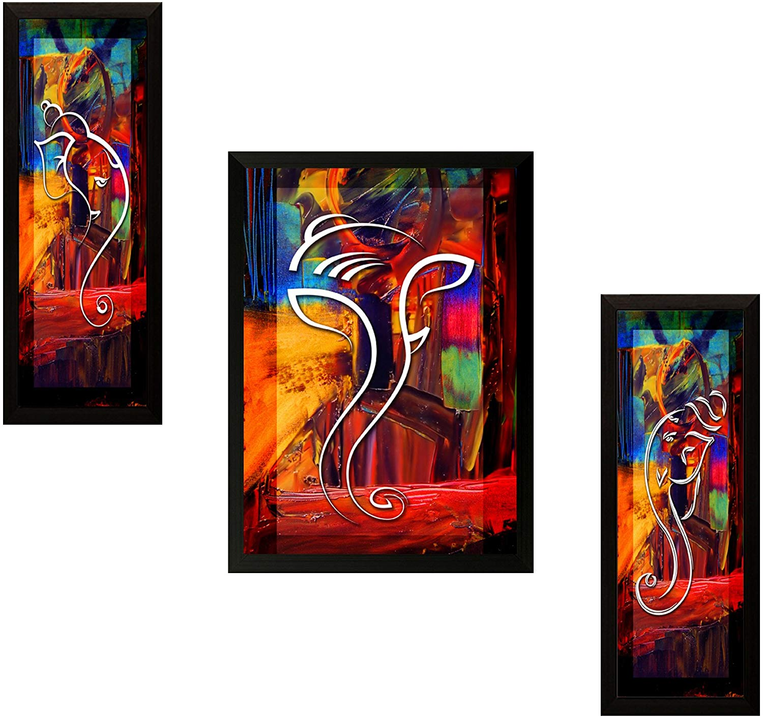Three Framed Painting
