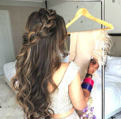 11. Simple Hairstyle In Marathi