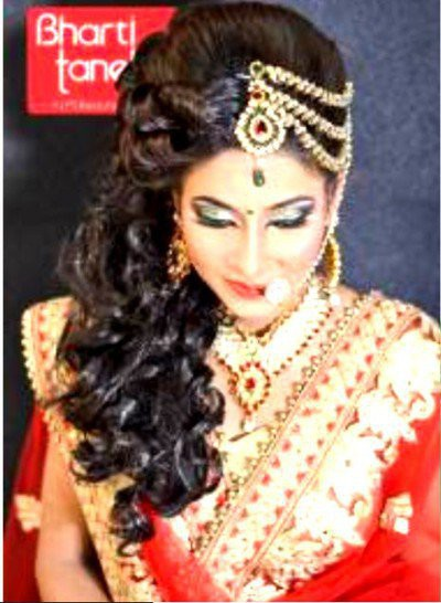 20. Simple Hairstyle In Marathi