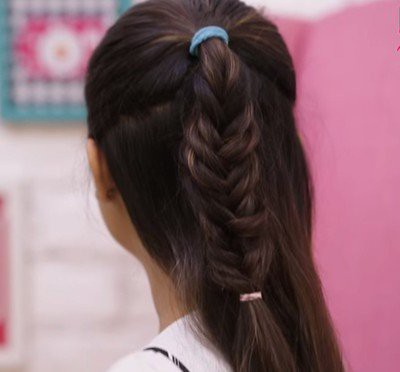 21. Simple Hairstyle In Marathi