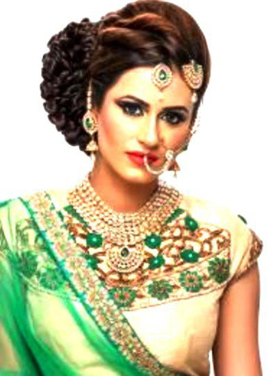 23. Simple Hairstyle In Marathi