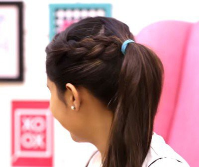 24. Simple Hairstyle In Marathi