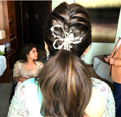 8. Simple Hairstyle In Marathi