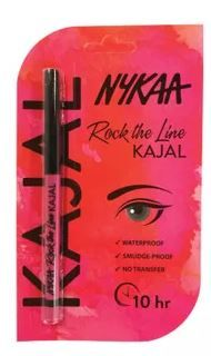Nykaa Rock the line Kajal Eyeliner - 001 Jet Black