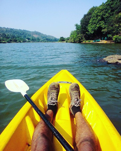 Legs In A Boat - Romantic Places To Visit In Maharasthtra