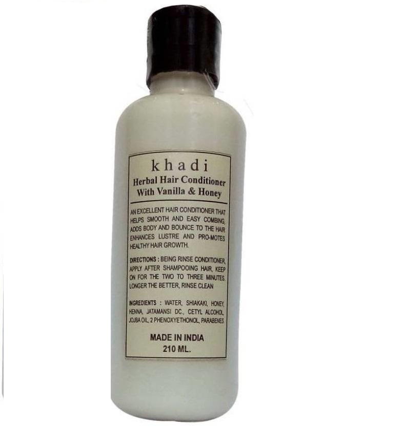 14 herbal beauty products - Khadi Natural Herbal vanilla Hair Conditioner