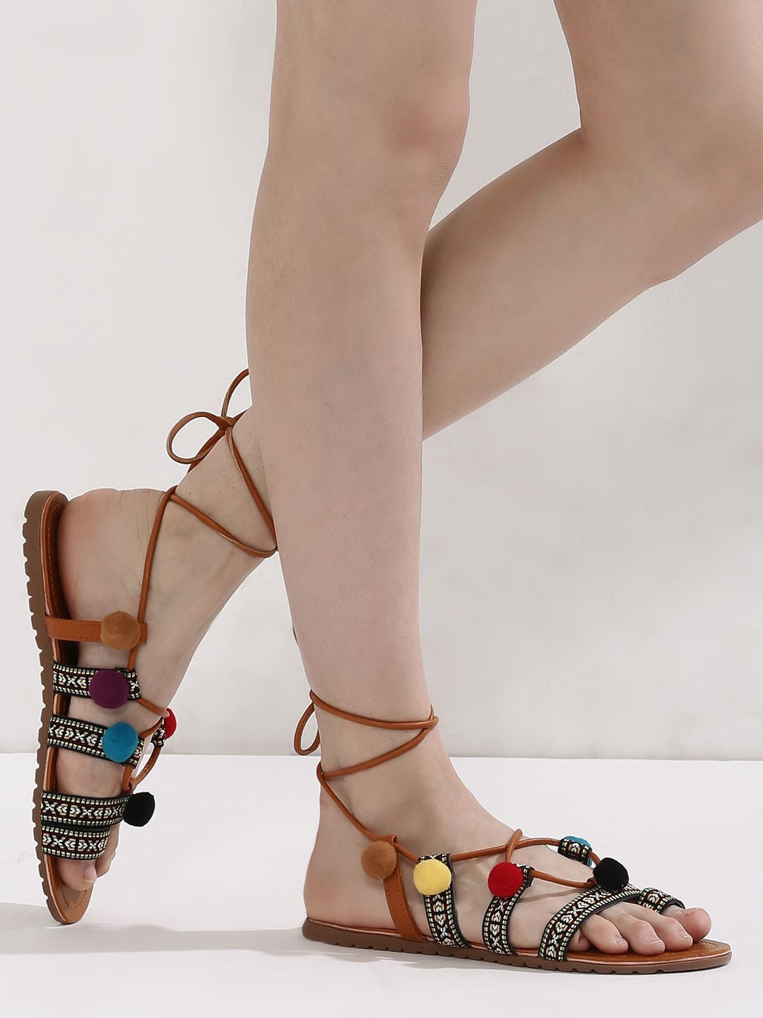 1 strappy sandals