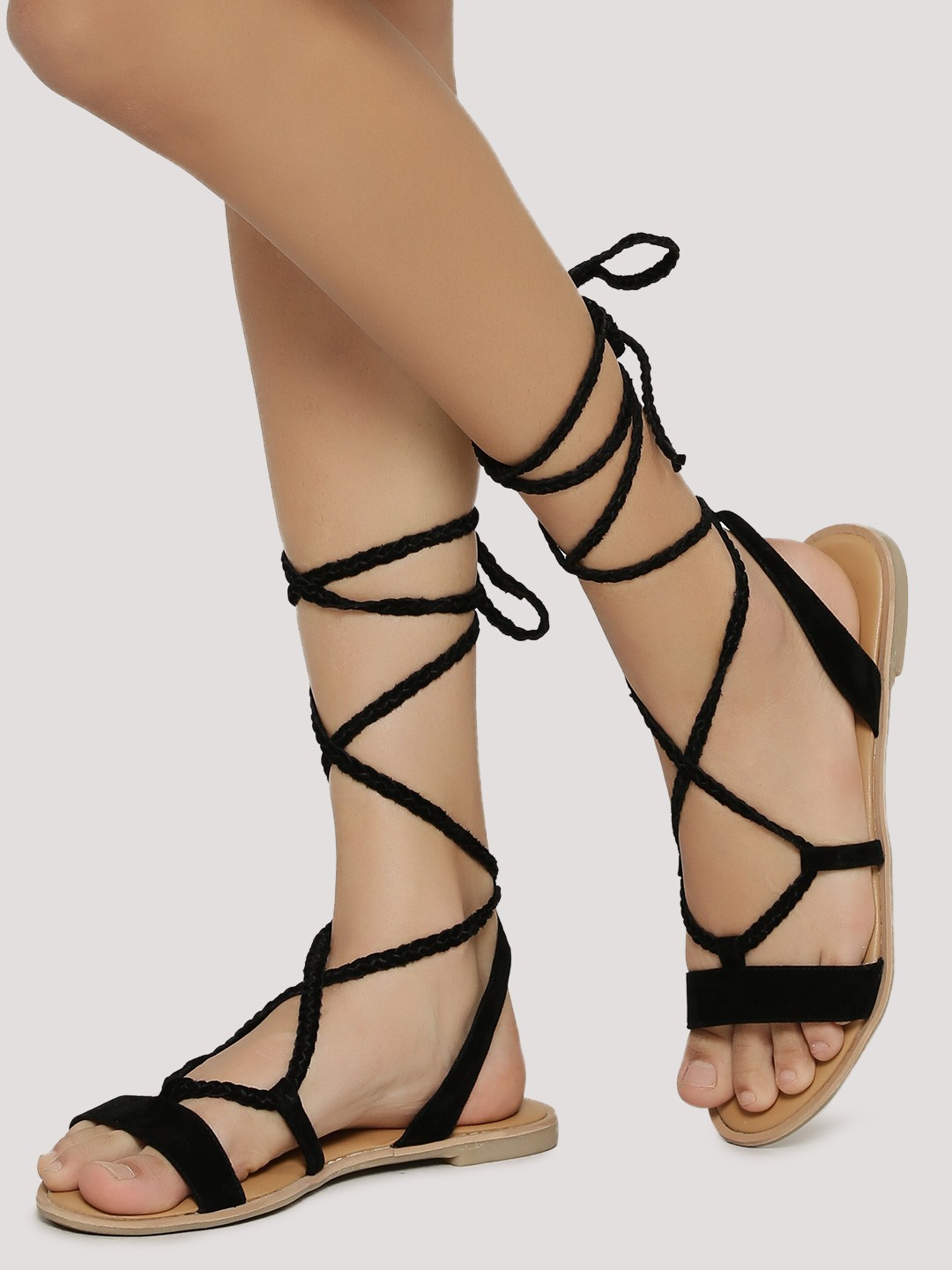 2 strappy sandals