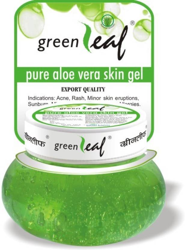 14 skincare products - aloe vera skin gel