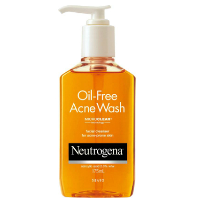 15 skincare products - neutrogena face wash