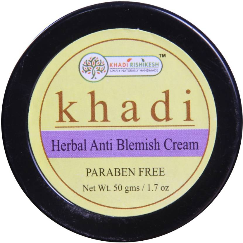2 skincare products - khadi anti blemish cream
