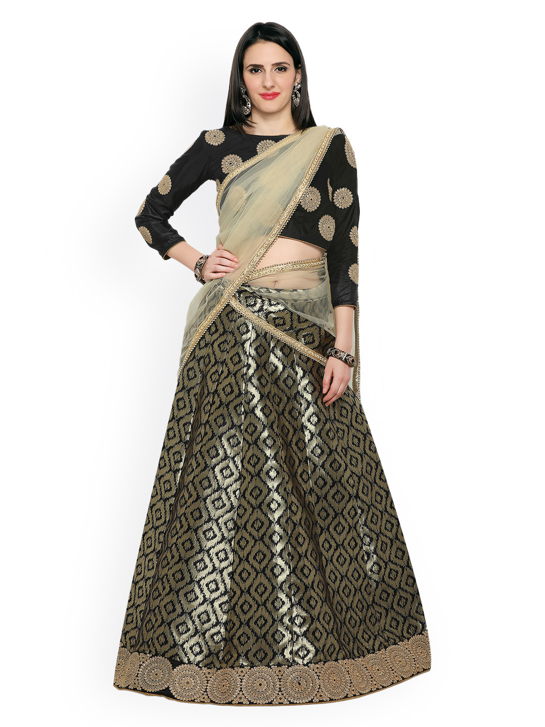2 sangeet outfits for the bride
