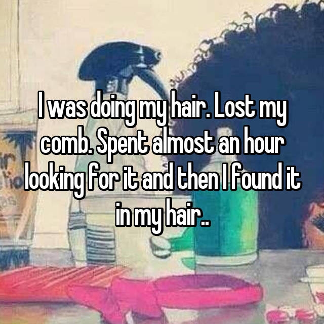 1 struggles every girl with long hair goes through