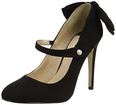 6. types of footwear - Mary Jane Bow Stilettos