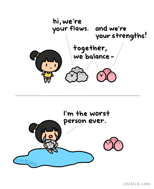 2 illustrations by chibird