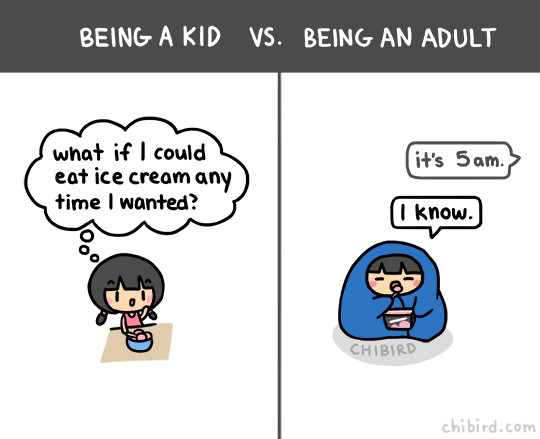 4 illustrations by chibird
