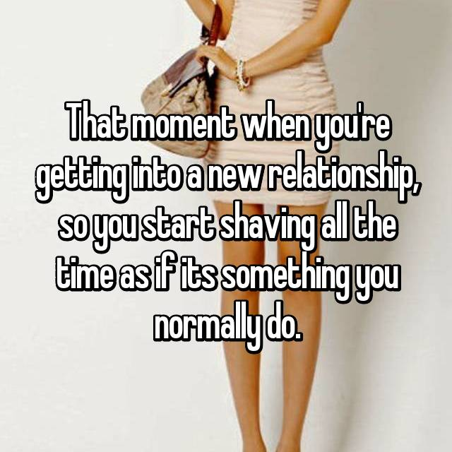 1  things about a new relationship