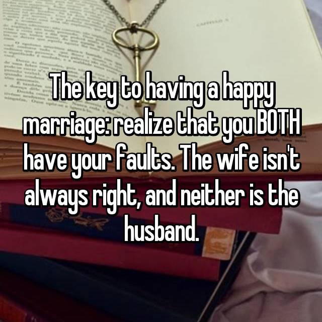 3 secret to a happy marriage