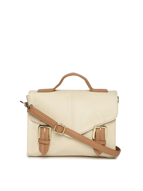 8 fashion essentials for college girls Beige satchel