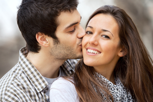 Internal fell in love with him - couple in love