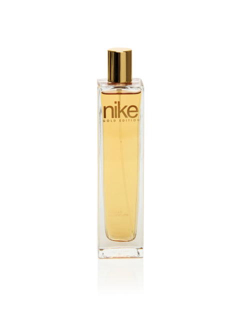 10 beauty products to carry - Nike Fragrances Women Gold Edition Natural Spray