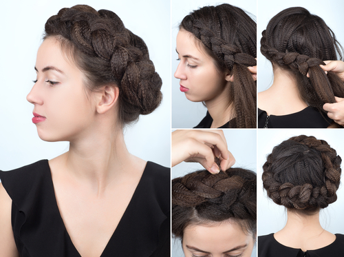3 sexy hairstyles - milk braid