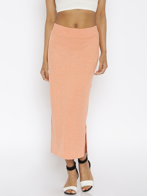 fashion items 4 peach long skirt