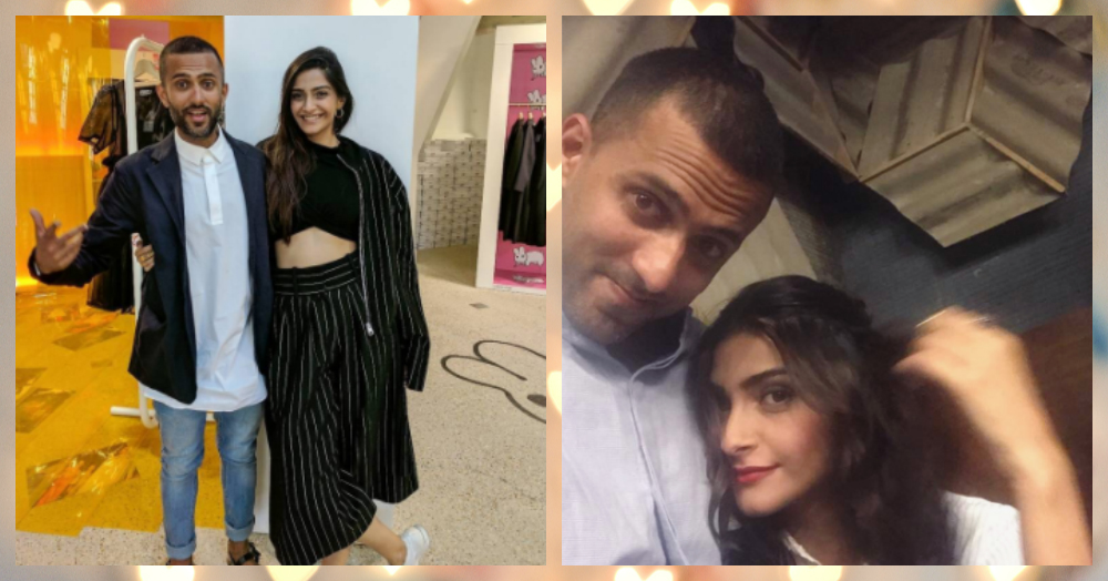 Sonam Kapoor's PDA With Anand Ahuja Is Too Cute To Handle!