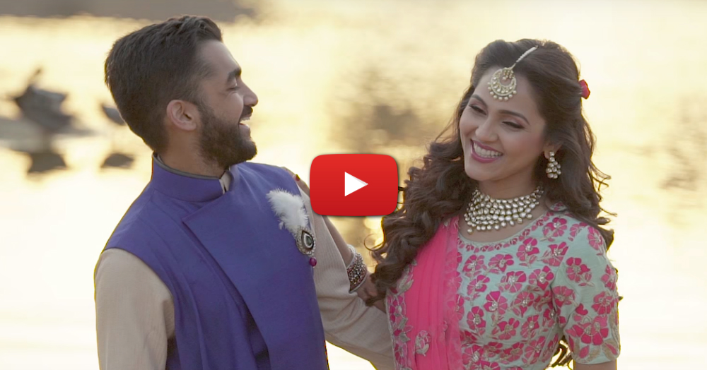 This Beautiful Pre-Wedding Video Is As Amazing As A Movie Song!