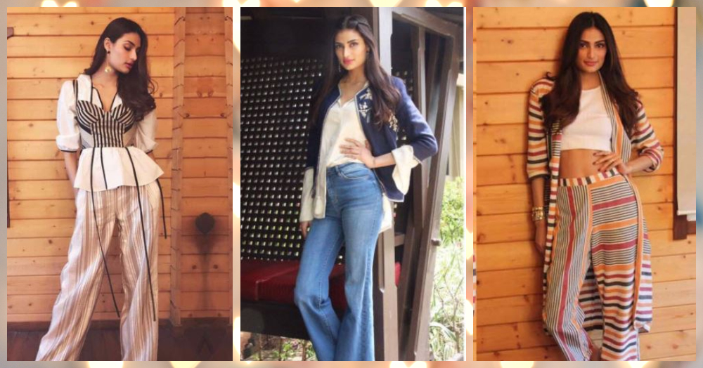 Athiya Shetty's Super Fashionable Looks Are ALL Your Style Goals