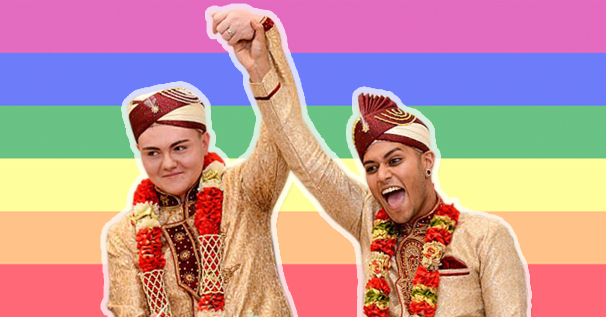 The First Muslim Gay Wedding Took Place And We're SO HAPPY!