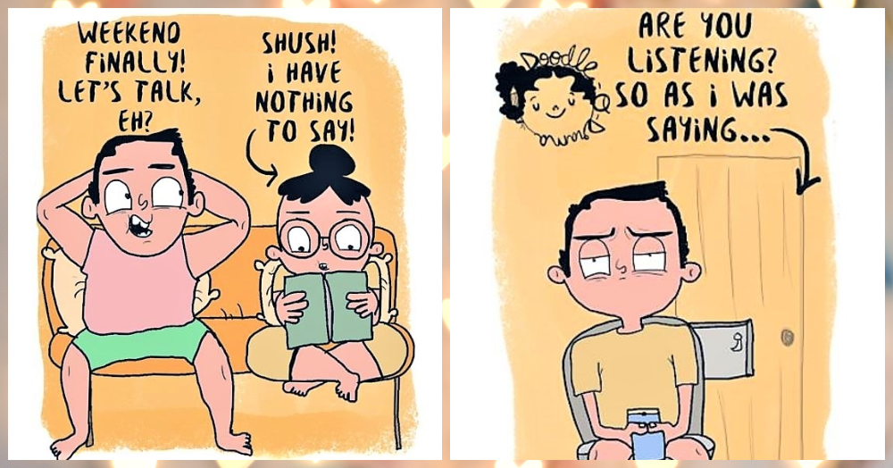 Cute Things Every Girl Does In A Relationship… Illustrated!