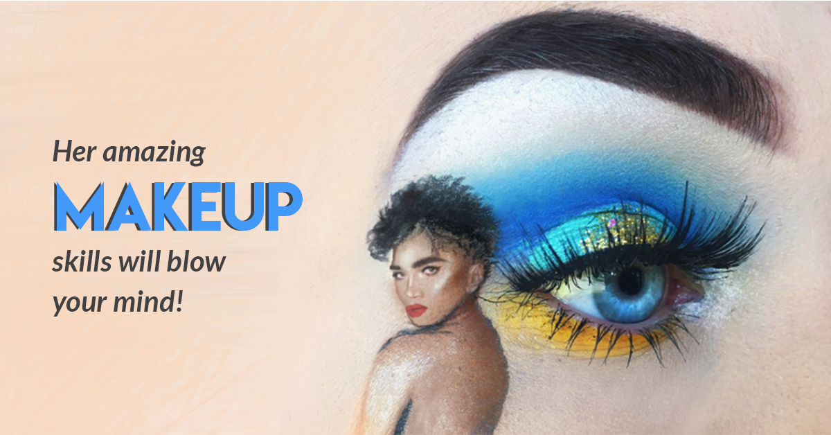 This MUA Creates Celeb Portraits On Her Eyes: It's Mind Blowing!