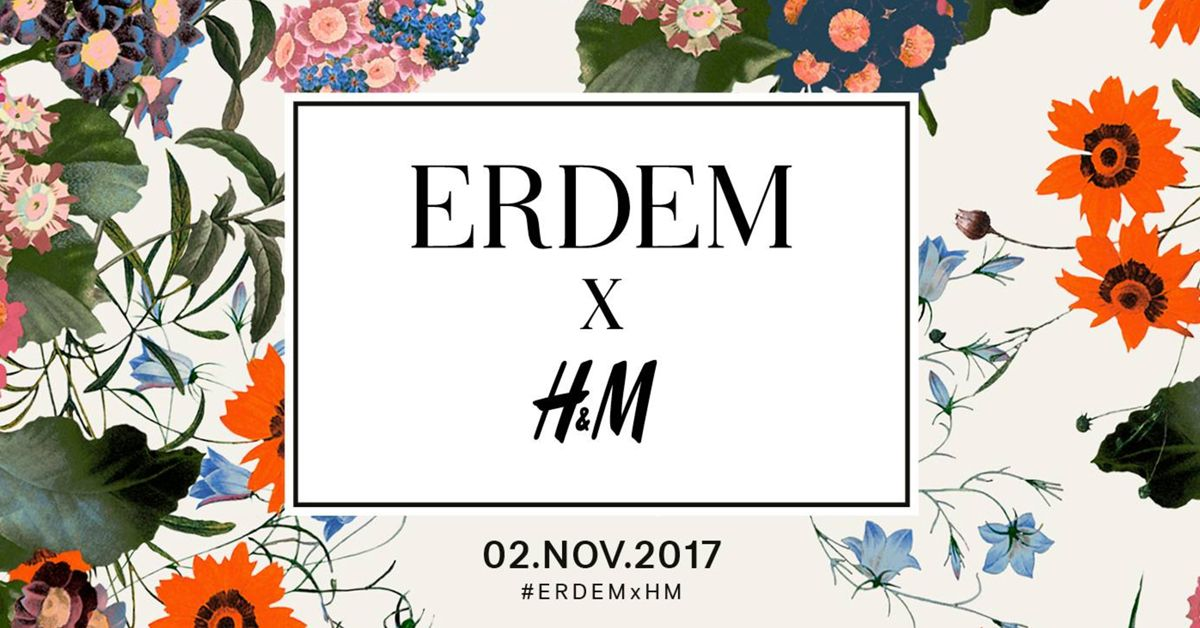 H&M & Erdem Are Collaborating And We Just Can't Keep Calm!