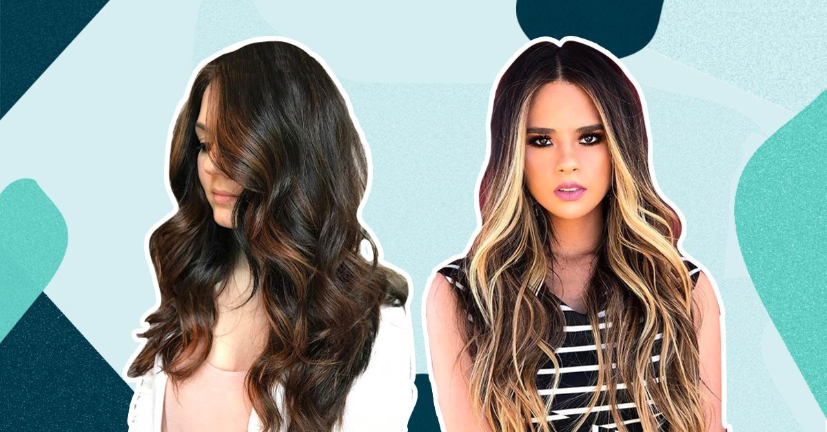 We're *Totally* Crushing On These Colour Highlights For Long Hair!