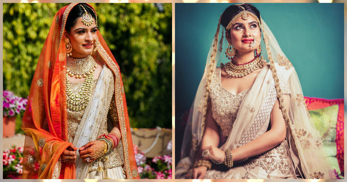 9 Gorgeous Brides Who Wore Simply *Stunning* Jewellery!