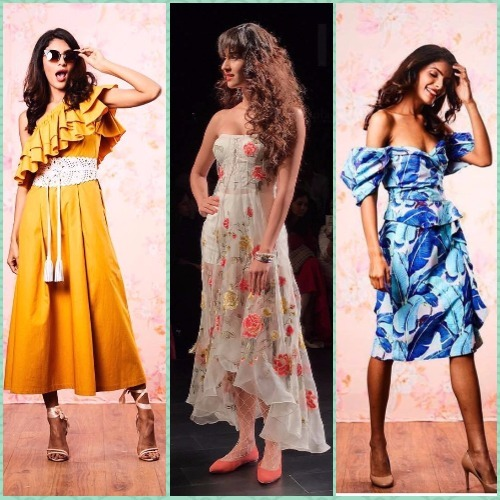 Flowy Silhouettes & 80s Prints: You'll LOVE This LFW Collection!