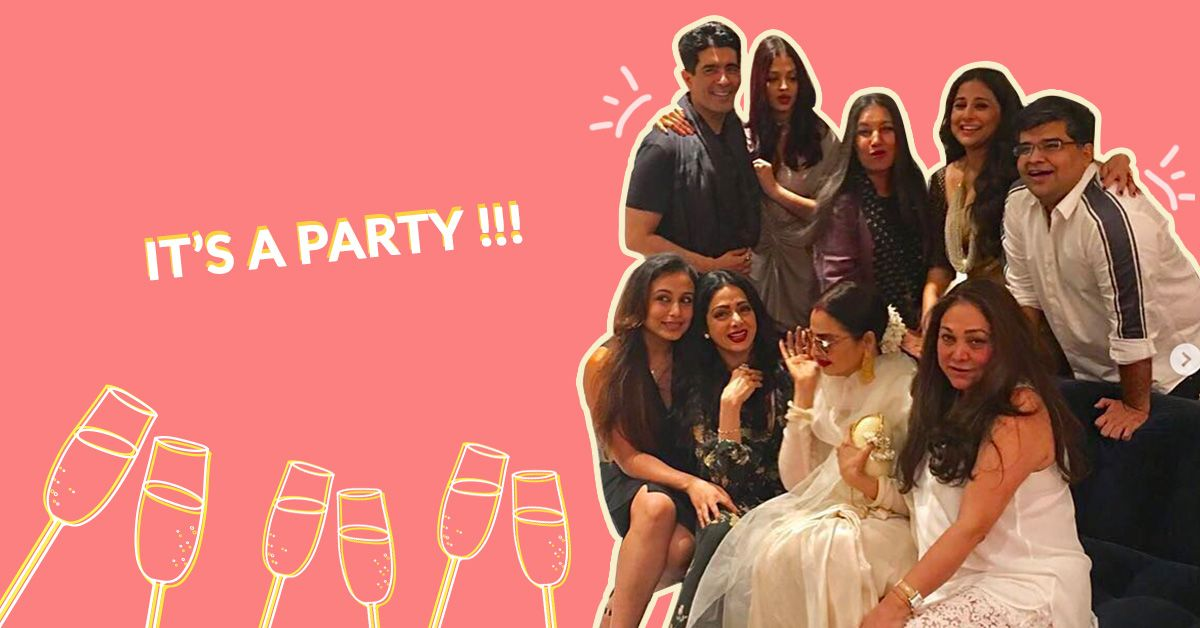 7 Pics That'll Make You Wish You Were At Manish Malhotra's Party