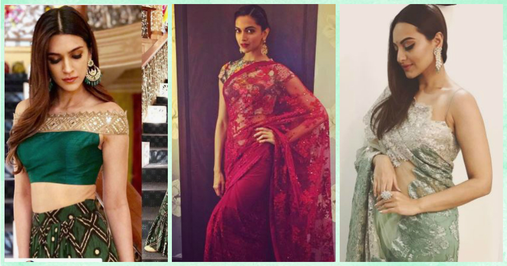 10 Bollywood Approved Blouse Designs For The Shaadi Season!