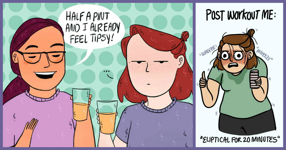 #GirlStruggle: These Comics About A Girl's Life Are SO Relatable