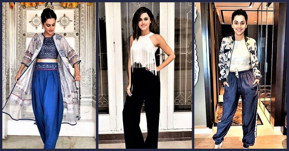 #OOTD: 7 Times Taapsee Pannu Nailed The Looks She Wore!
