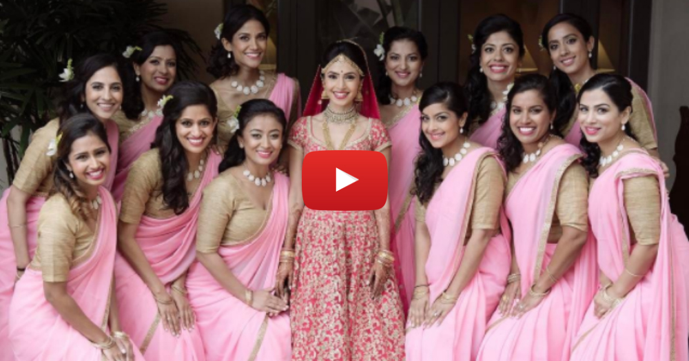 This Bride's #ShaadiSquad Planned The Coolest Entry For Her!