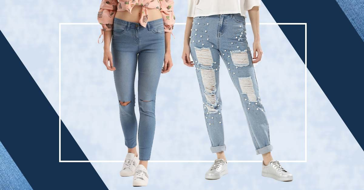 Bored Of Your Blue Jeans? 3 Stylish Ways To Revamp Your Old Ones!