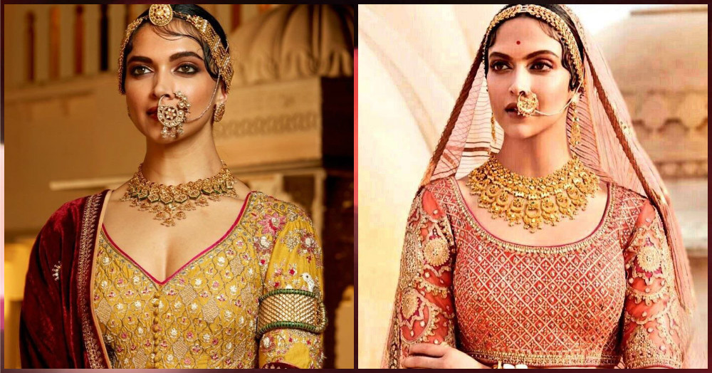 5 Unseen Looks From 'Padmavati' That Are Giving Us Major Royal Bride Feels!