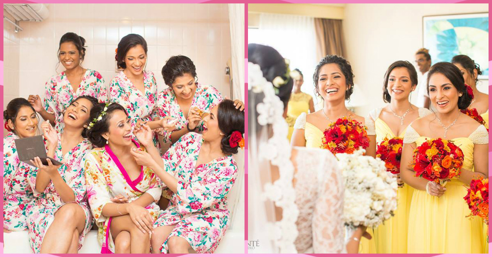 This *Colourful* Bridesmaid's Shoot Is All You Need To See To Make Your Tuesday Brighter!