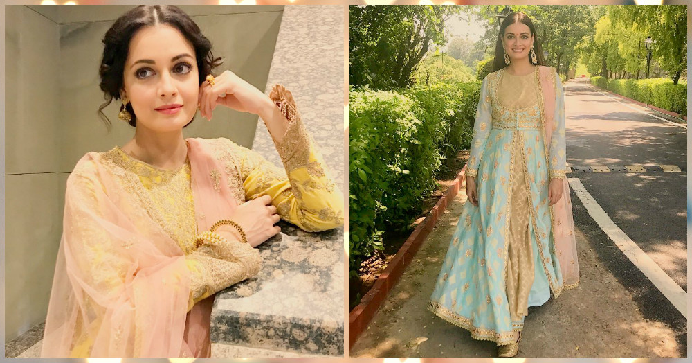 These Looks By Dia Mirza Will Definitely Make You Want To Go Shopping For the Festive Season!