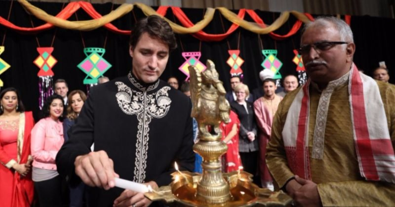 Justin Trudeau Celebrated Diwali In Canada And He Looks Hot AF!
